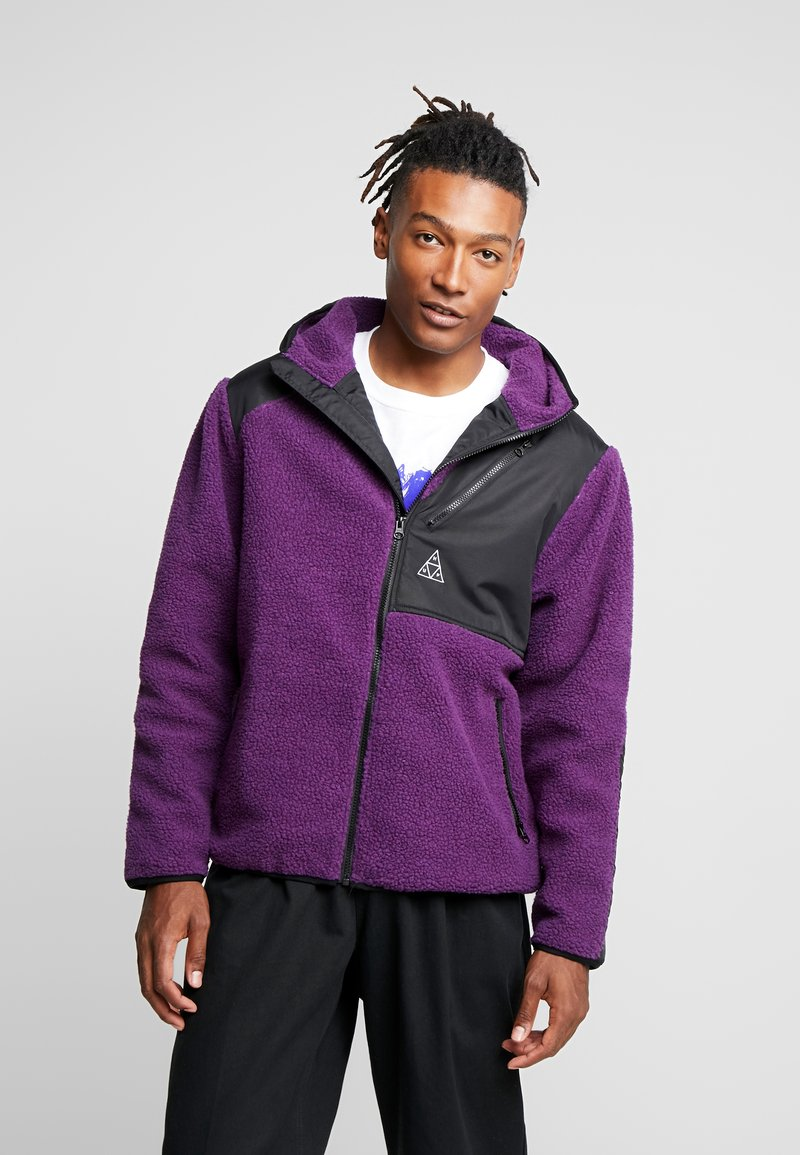 HUF - AURORA TECH JACKET - Summer jacket - purple