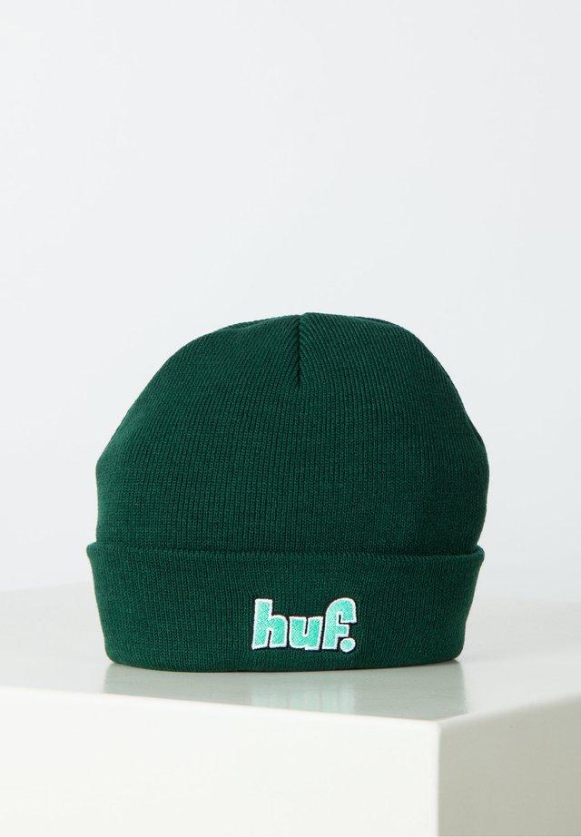 Beanie - botanical green