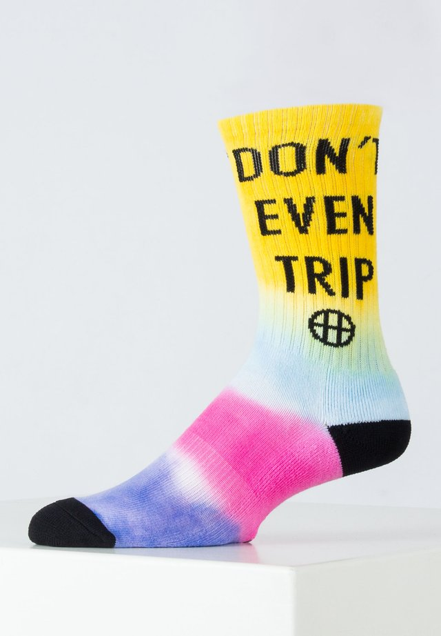 DON'T TRIP - Socken - blazing yellow