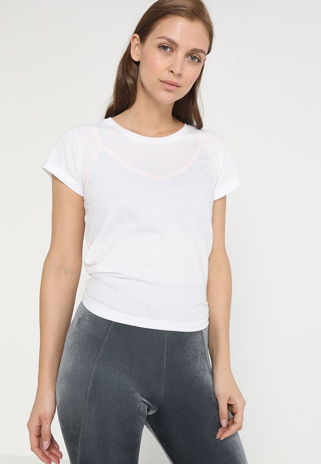 KNOT - T-shirt con stampa - white