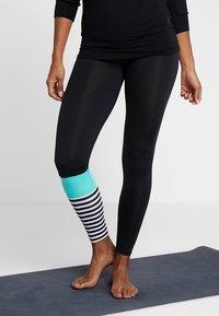 Hey Honey - LEGGINGS - Leggings - surf style turquoise - 0