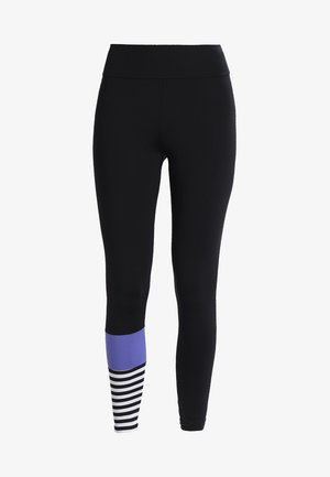 LEGGINGS SURF STYLE - Punčochy - black/purple