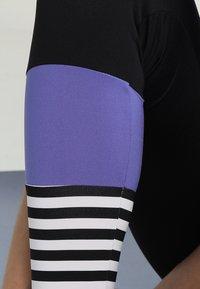 Hey Honey - LEGGINGS SURF STYLE - Leggings - black/purple - 5