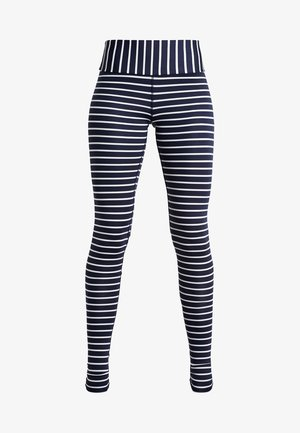 LEGGINGS BARRE STRIPES - Punčochy - dark blue