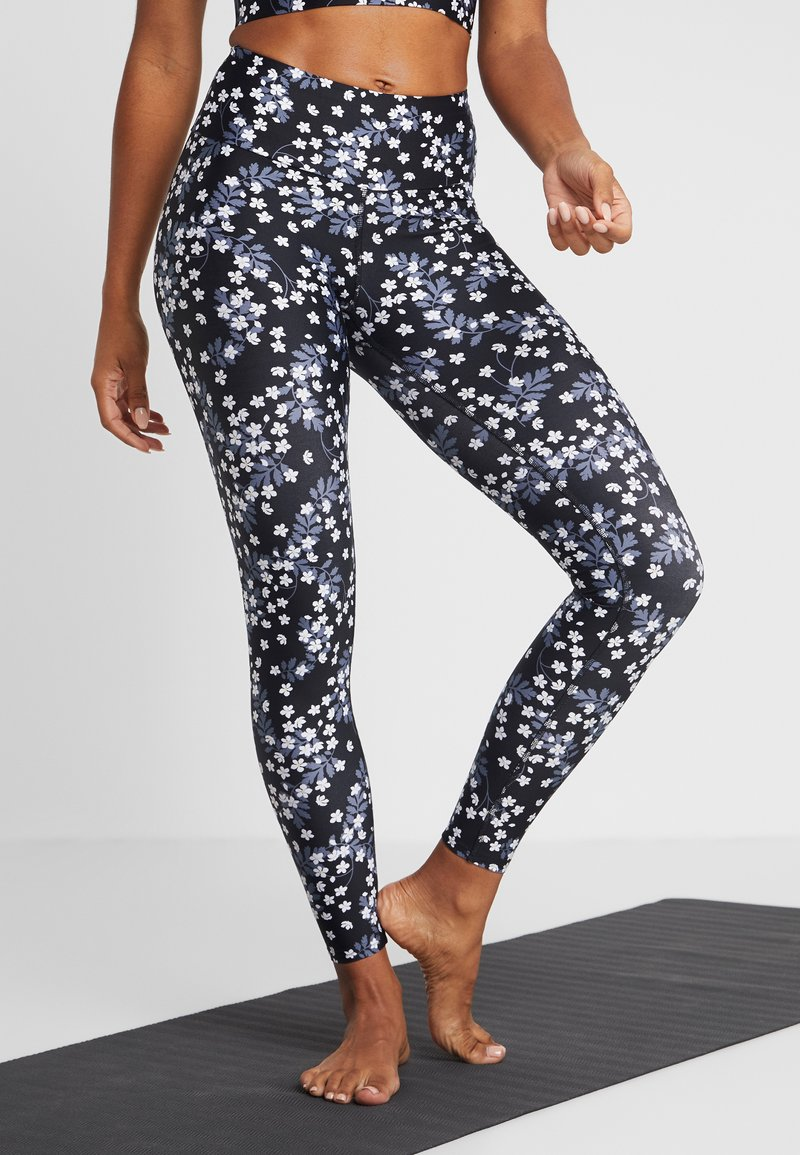 Hey Honey - LEGGINGS DAISY - Tights - dark blue