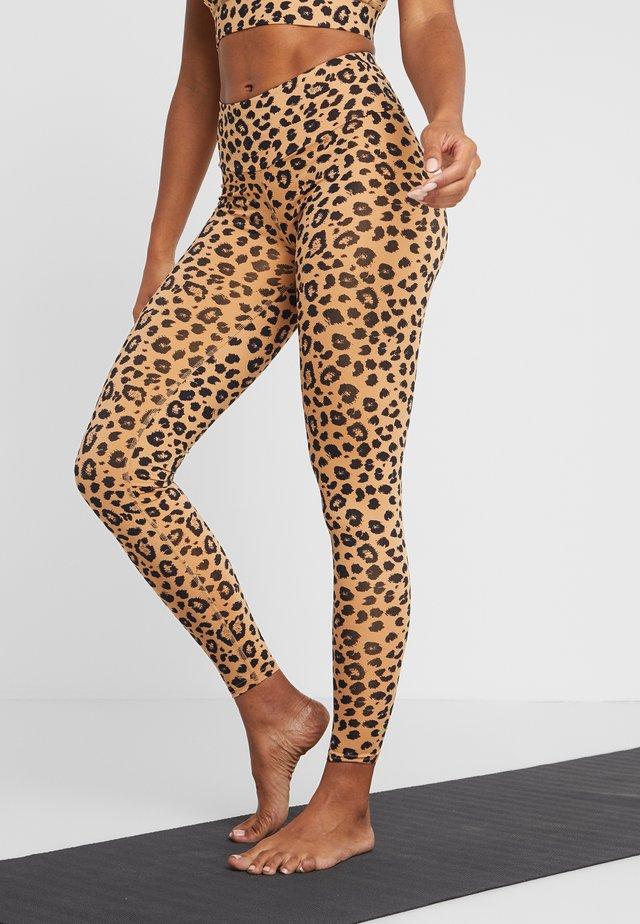 LEGGINGS DAISY - Leggings - brown