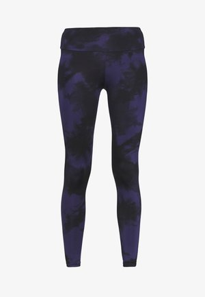 LEGGINGS TIE DYE  - Leggings - dark blue