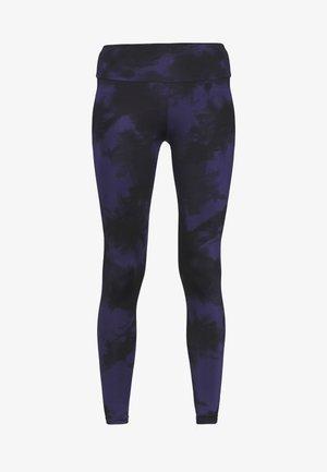 LEGGINGS TIE DYE  - Tights - dark blue