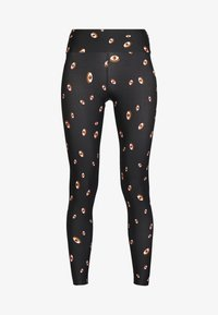 Hey Honey - LEGGINGS 3RD EYE BLACK - Medias - black