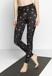 Hey Honey - LEGGINGS 3RD EYE BLACK - Medias - black - 0