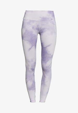 LEGGINGS TIE DYE - Leggings - purple