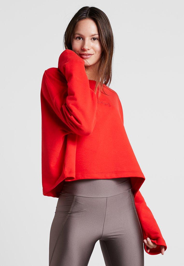 Hey Honey - SWEATER GOOD TO GO - Sweatshirt - fiery red