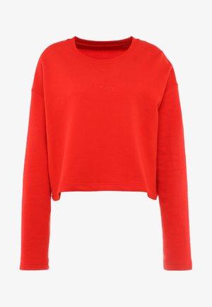 SWEATER GOOD TO GO - Sweatshirt - fiery red