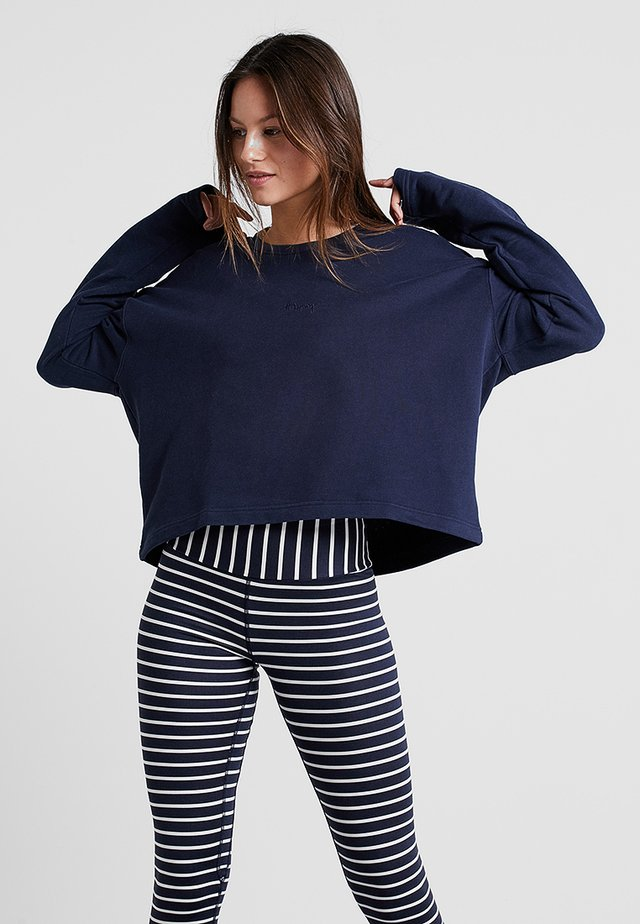 SWEATER GOOD TO GO - Sweatshirt - navy