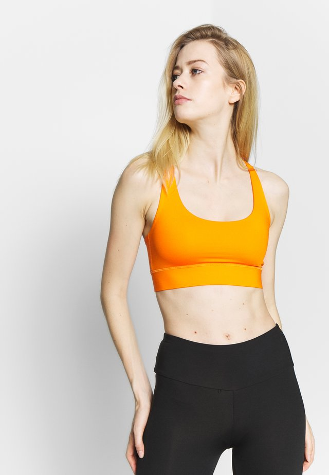 CRISS CROSS BRA - Sports-BH - orange