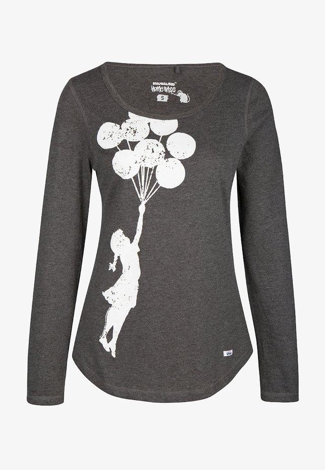 BRANDALISED - Pitkähihainen paita - dunkelgrau melange