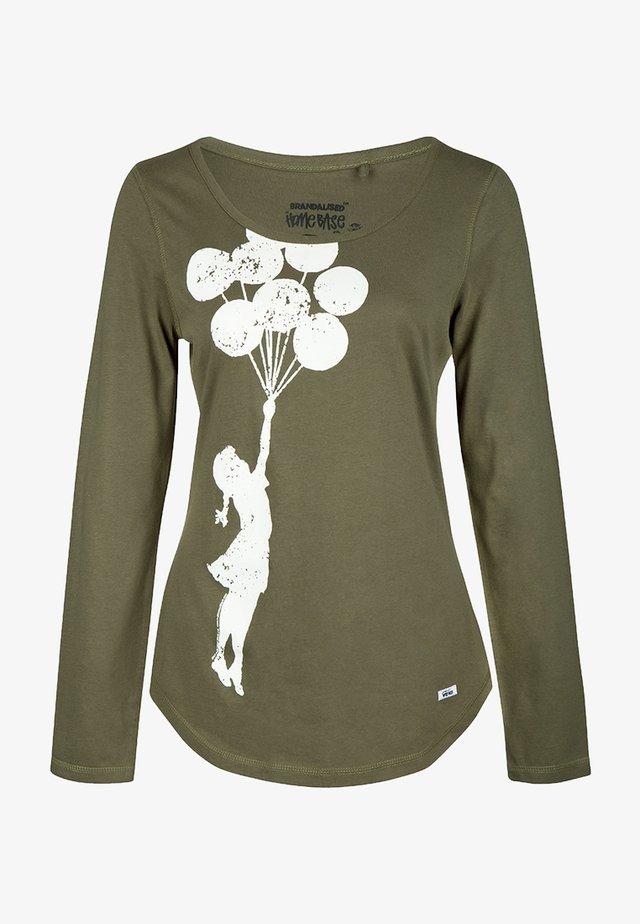 BRANDALISED - Långärmad tröja - olive