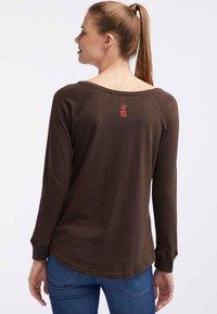 HOMEBASE - Långärmad tröja - brown - 2