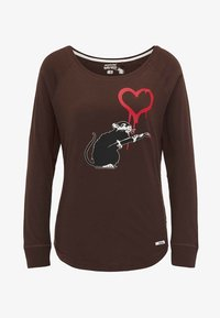 HOMEBASE - Långärmad tröja - brown - 4