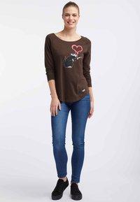 HOMEBASE - Långärmad tröja - brown - 1