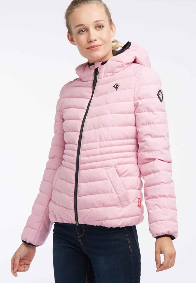 Winter jacket - pink melange