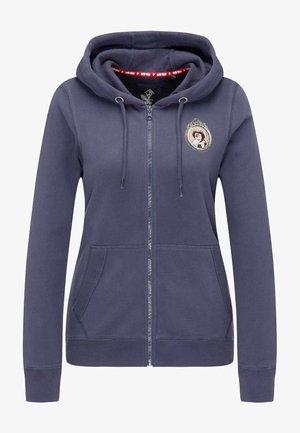 veste en sweat zippée - marine