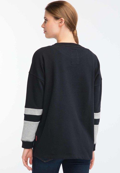 Homebase Bluza - black Odzież Damska VBEI-ES2 ekonomiczny