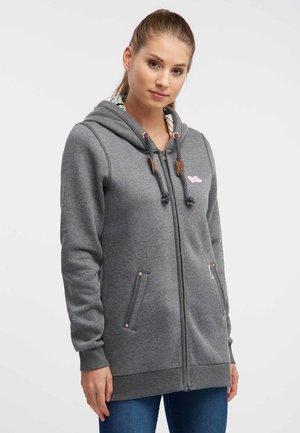 Bluza rozpinana - dark gray melange