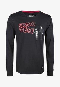 HOMEBASE - BRANDALISED  - Camiseta de manga larga - black - 0