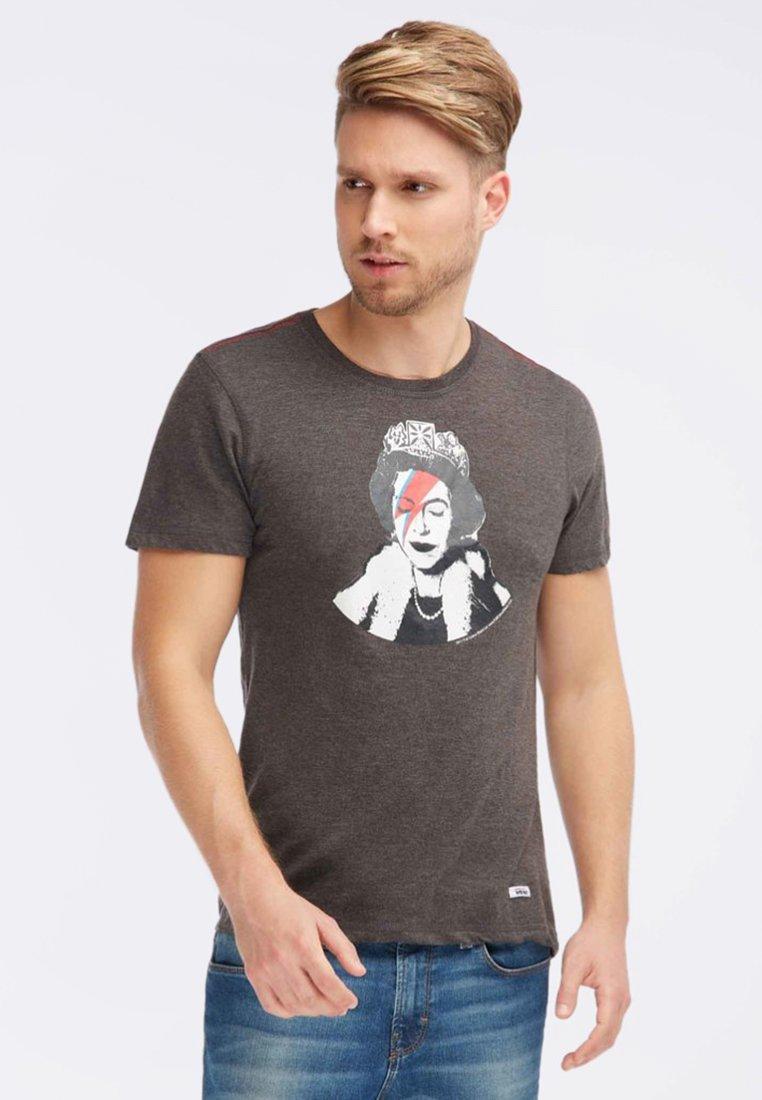 HOMEBASE - Camiseta estampada - dark grey