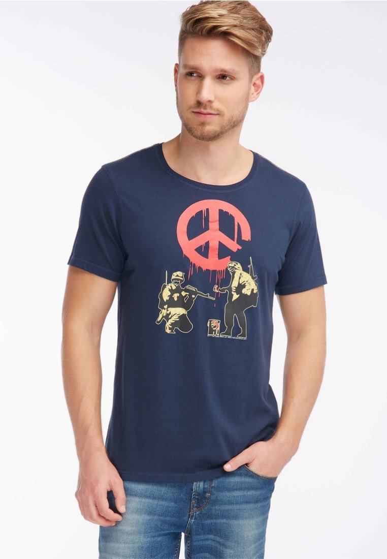 Homebase - Print T-shirt - dark blue