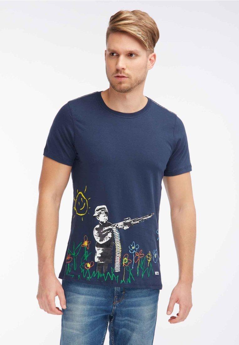 Homebase - T-shirt imprimé - dark blue