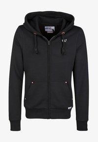 HOMEBASE - HOMEBASE - Zip-up hoodie - black - 0