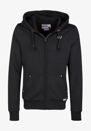 HOMEBASE - Zip-up hoodie - black