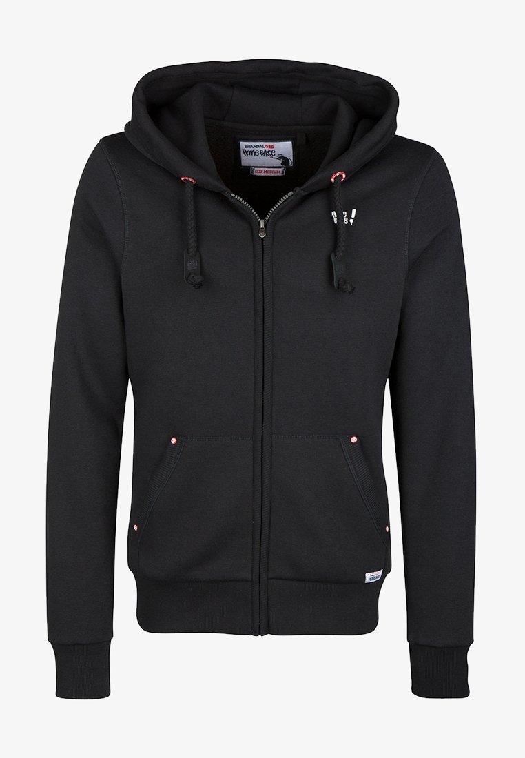 HOMEBASE - HOMEBASE - Zip-up hoodie - black