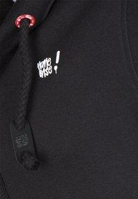 HOMEBASE - HOMEBASE - Zip-up hoodie - black - 4