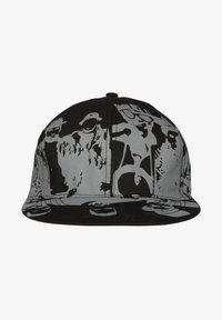 HOMEBASE - HOMEBASE - Cap - schwarz/grau people print - 1