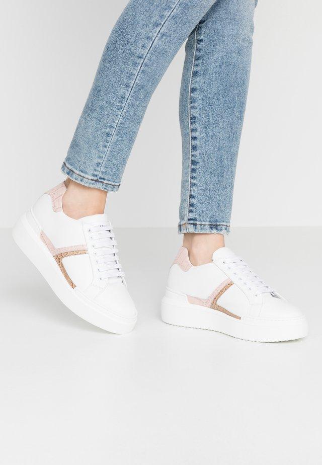 Sneakers - bianco/coconilo rosa/ivory craem