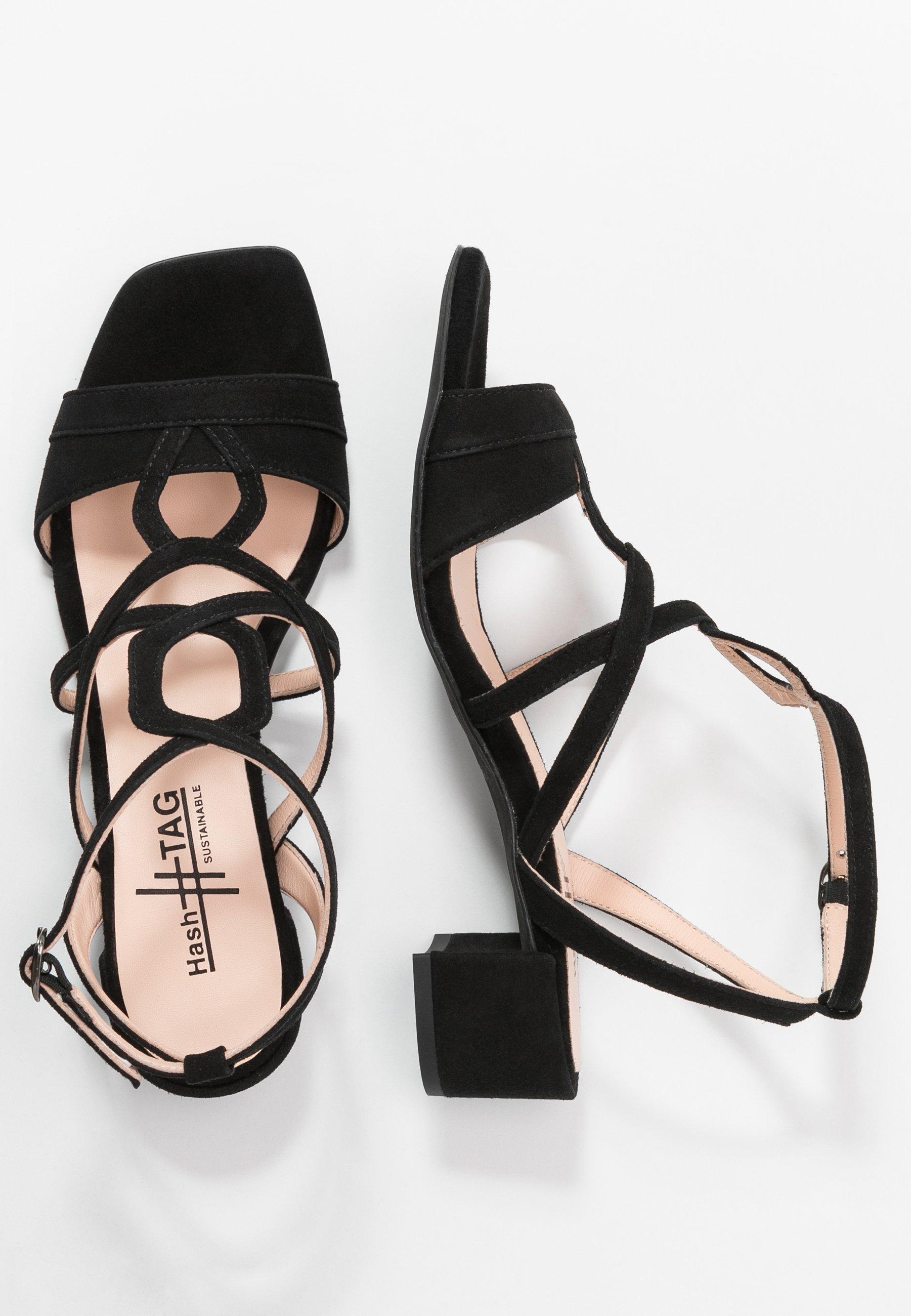 Hash#tag Sustainable Sandaler - Nero