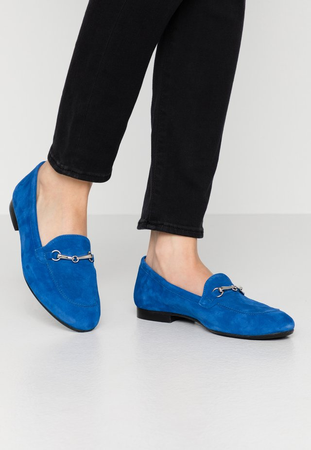 Loaferit/pistokkaat - blue