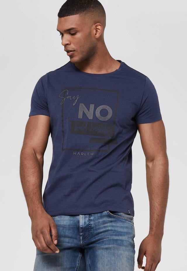ARTWORK - Print T-shirt - middle blue