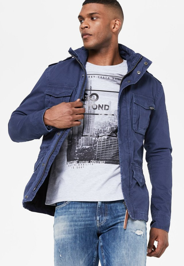 ORLANDO - Outdoor jacket - middle blue