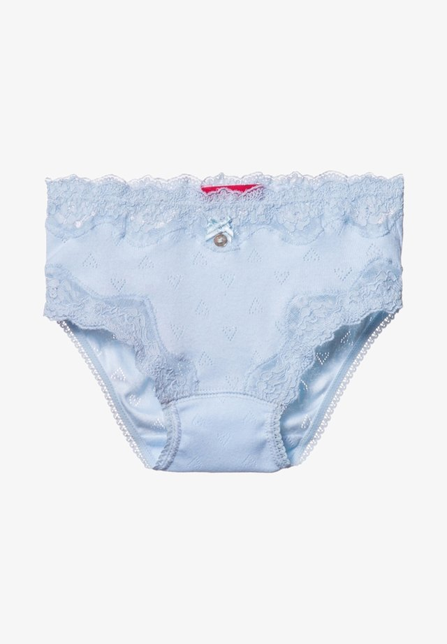 POINTELLE HEART  - Briefs - blue