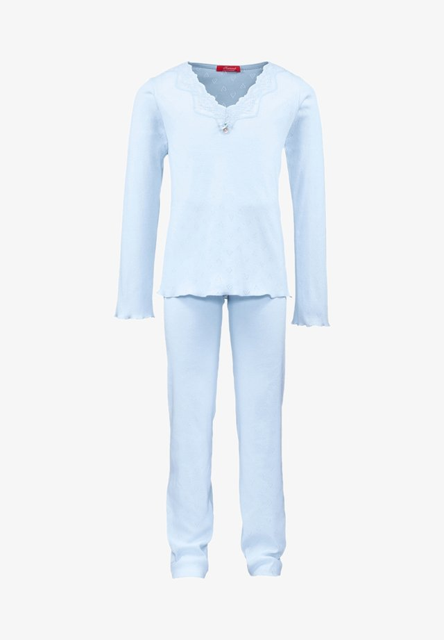 POINTELLE - Pyjama set - blue