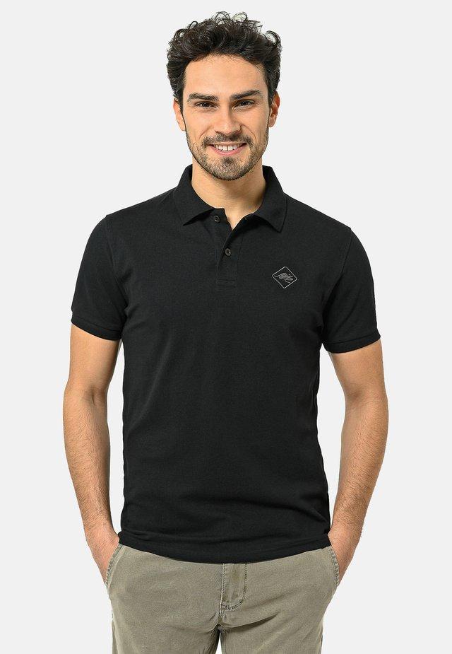 Poloshirt - black-carbongrey