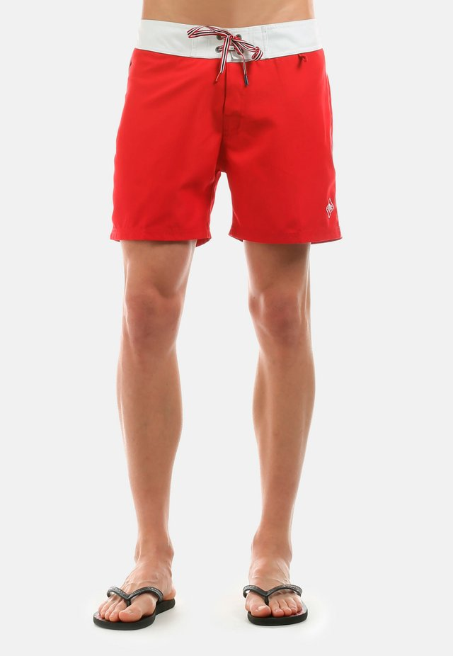 NARRABEEN - Short de bain - red
