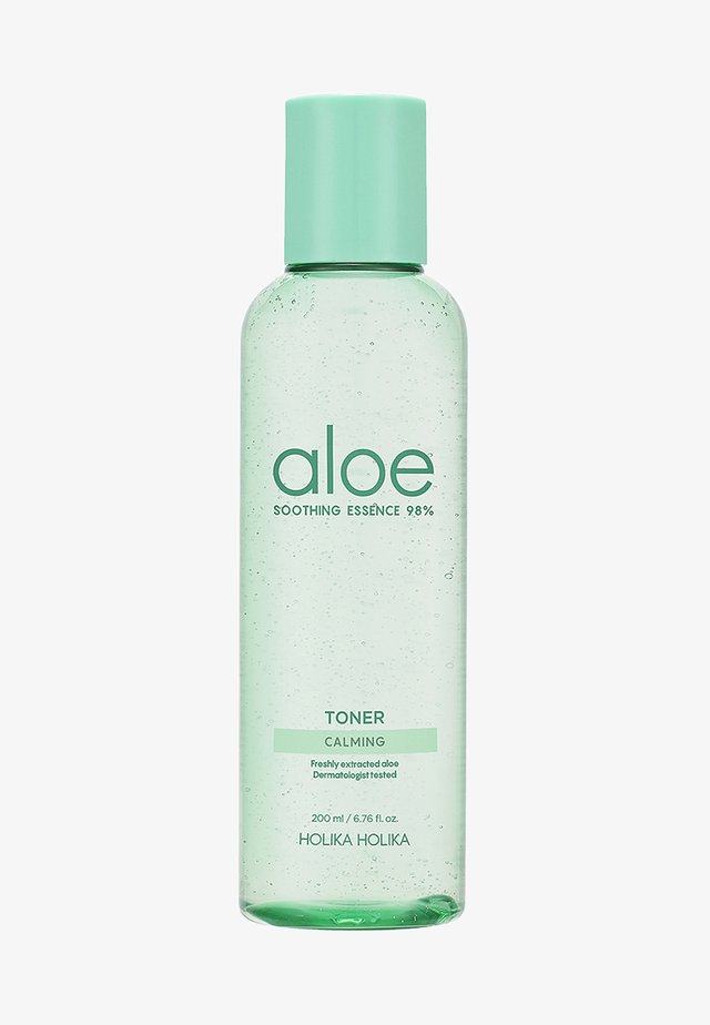 ALOE SOOTHING ESSENCE 98% JUICY TONER  - Lotion visage - -