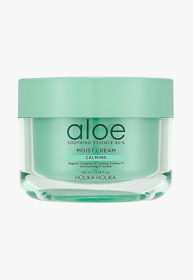 ALOE SOOTHING ESSENCE 80% MOLISTURZIZING CREAM  - Soin de jour - -