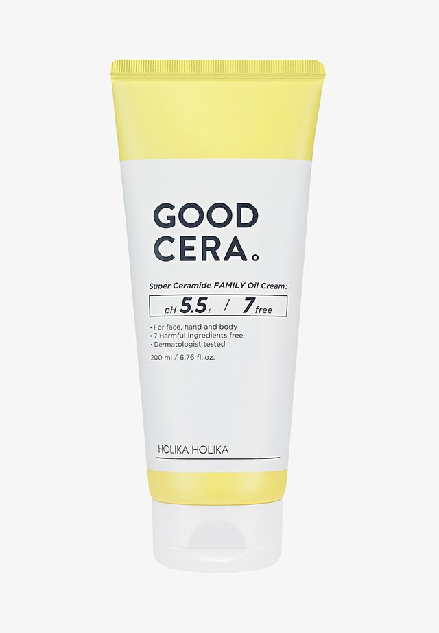 GOOD CERA SUPER CERAMIDE FAMILY OIL CREAM - Hydratant - -