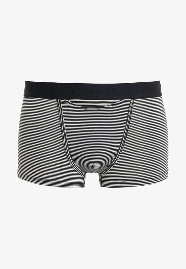 Pants - striped navy/skiny